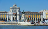 Der Handel Platz, Lissabon, portugal — Stockfoto