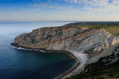 The coastline near cape Espichel, Portugal — Stock fotografie