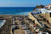 The Ericeira harbor on the coast of Portugal — Стоковое фото