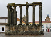 The Roman Temple of Evora, Portugal — Stock Photo