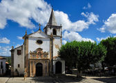 Church Santa Maria, Obidos, Portugal — Stock Photo