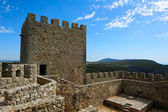 Medieval castle Castelo dos Mouros, Sesimbra, Portugal — Stock Photo