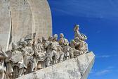 Das denkmal der entdeckungen, lissabon, portugal — Stockfoto