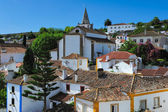 View of Obidos, Portugal — Stock Photo