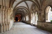 Cloister of Monastery de Santa Maria, Alcobaca, Portugal  — Stock Photo