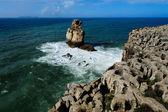 Atlantic coast, Peniche, Portugal — Stock Photo