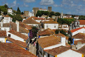 View of town Obidos, Portugal — Stock Photo