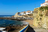 Ericeira harbor on the coast of Portugal — Stock Photo