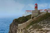 キャップ サンビセンテ、サグレス、ポルトガルの灯台 — ストック写真