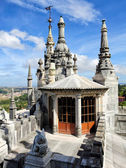 On the top of Main House of Quinta da Regaleira, Portugal — Stock Photo