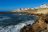 Ericeira harbor on the coast of Portugal — Foto Stock
