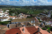Old medieval town Obidos, Portugal — Stock Photo