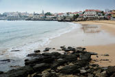 Plajda cascais, portekiz — Stok fotoğraf