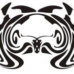 Tribal owl — Stock Vector #29643245