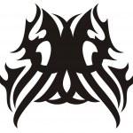 Tribal owl head icon — Stock Vector #32545459