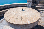 Ancient sundial in Tarragona, Spain — Stock Photo