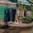 Stock Photo: Lake in Siem Reap, Cambodia