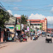 Street in Siem Reap, Cambodia — Stock Photo