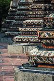 Chedi at Wat Pho, Bangkok Thailand — Stock Photo