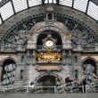 Railway station in Antwerpen, Belgium — Stock Photo