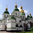St. Sophia Cathedral in Kiev, Ukraine - 图库照片