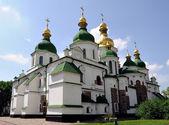 Catedral de santa sofía en kiev, ucrania — Foto de Stock