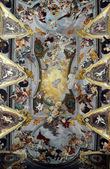 Ceiling of Saint Nicholas's Cathedral in Ljubljana, Slovenia — Photo