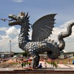 Zinlant, Symbol of Kazan. Russia — Stock Photo #23761633