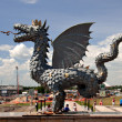 Stock Photo: Zinlant, Symbol of Kazan. Russia