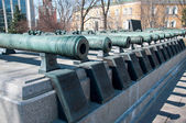 Old Cannons In Moscow Kremlin, Russia — Stock Photo