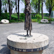 Memorial to victims of Holodomor in Kiev, Ukraine — Stock Photo #25173491