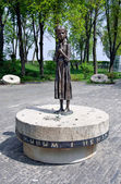 Memorial to the victims of Holodomor in Kiev, Ukraine — Stock Photo
