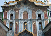 The Gate Church of the Trinity in Kiev Pechersk Lavra, Ukraine — Stock Photo