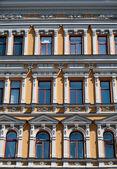 Facade of building in Kiev, Ukraine — Stock Photo