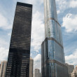 Stock Photo: Trump Tower in Chicago, USA