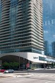 在芝加哥,美国酒店雷迪森 — 图库照片