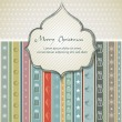 Christmas background - vintage style — Stock Vector #20349741