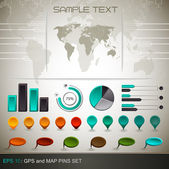 Detail infographic - EPS10 Compatibility Required — Stock Vector