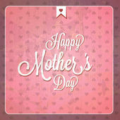 Vintage Happy Mothers Day Cards — Stock Vector