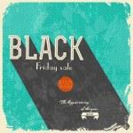 Black Friday Calligraphic Designs — Stock Vector