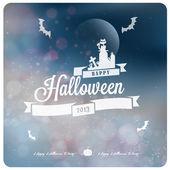 Happy Halloween Typography — Stock Vector