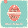 Happy Easter greeting card — Stock Vector #41586009
