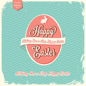 Happy Easter greeting card — Stock Vector