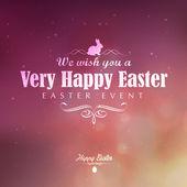 Happy Easter greeting card — Stockvektor