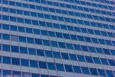Vista de los rascacielos con cielo azul — Foto de Stock