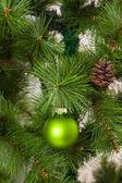 Adornos de árbol de navidad — Foto de Stock