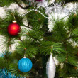 Christmas-tree decorations — Stock fotografie
