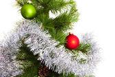 Decorações de natal-árvore — Foto Stock