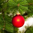 Kerstboom decoratie — Stockfoto