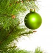 Stock Photo: Christmas-tree decorations